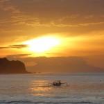 バリ島チャンディダサ2015年1月7日(水)の朝陽