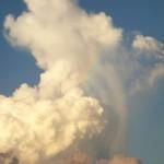 バリ島ヌガラ1月7日(木)の朝陽