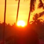 【日の出動画あり】バリ島ウブド近郊2016年3月23日(水)