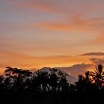 【動画有り】バリ島ウブド近郊2016年5月30日(月)朝の風景